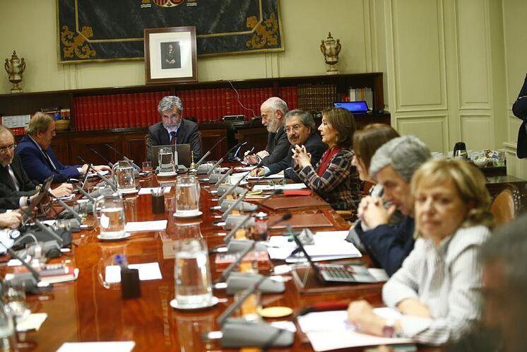 La Plénière du CGPJ réunie dans un fichier image.