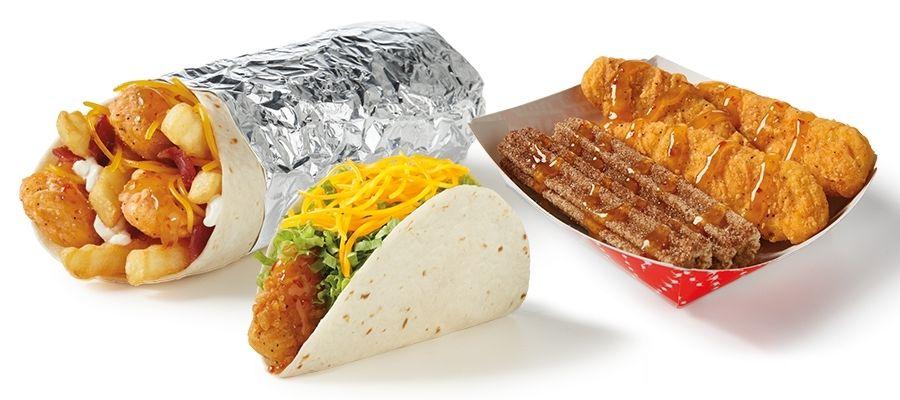 Del Taco adoucit son menu avec du nouveau poulet croustillant au miel et à la mangue