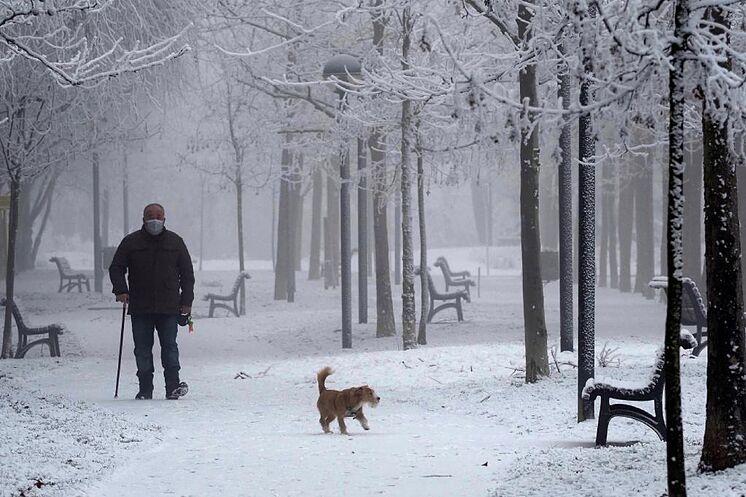 Vague de neige de fr