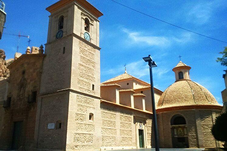 Extérieur de l'église de San L