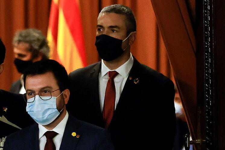 GRAFCAT7116.  BARCELONE - Le vice-président de la Generalitat, Pere ...