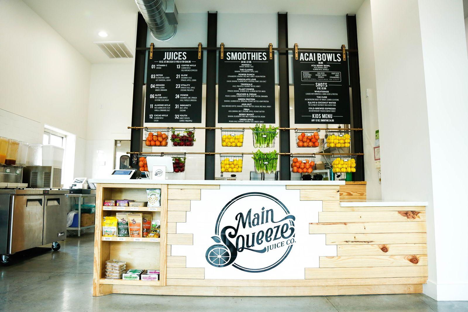 Main Squeeze Juice Co. ouvre la première vitrine de Fort Worth