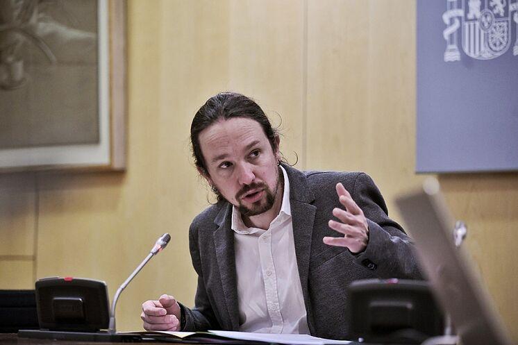 Le deuxième vice-président, Pablo Iglesias, a présidé certains d