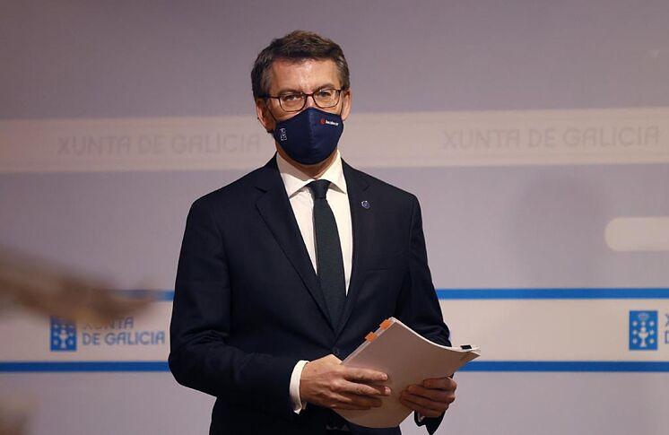 Le président de la Xunta, Alberto N