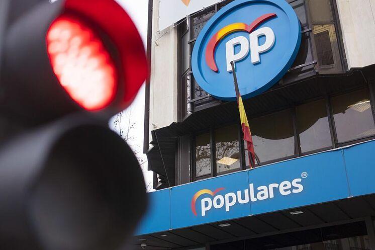 Le siège du Parti populaire, à Madrid