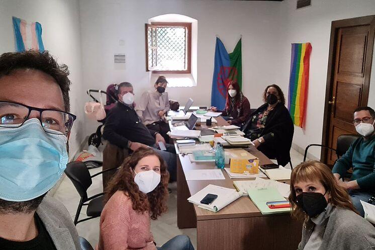 Les députés expulsés d'Adelante Andaluc