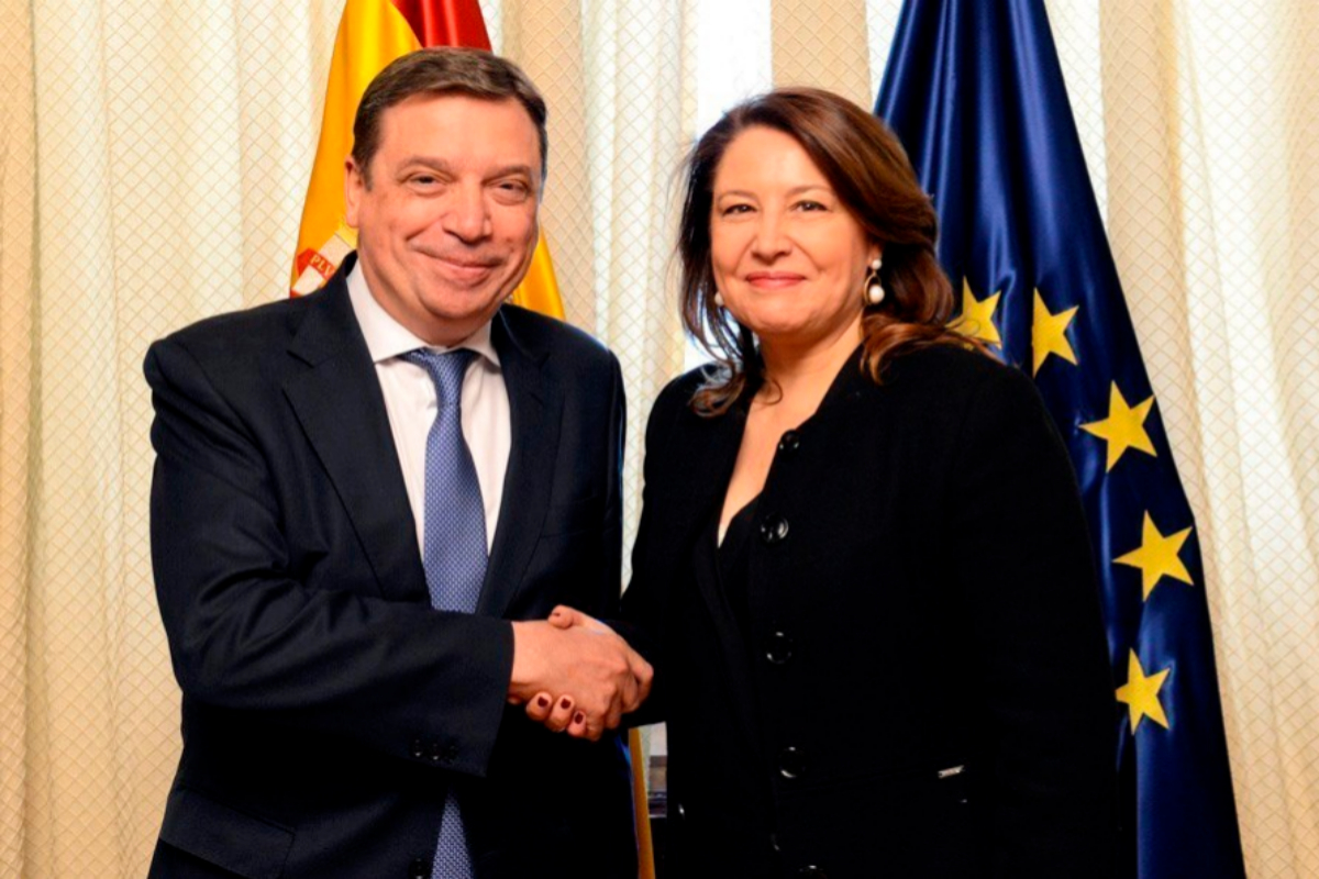 Ministre Luis Planas et Ministre Carmen Crespo.