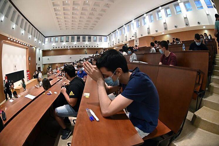 Les étudiants dans la sélectivité d'un