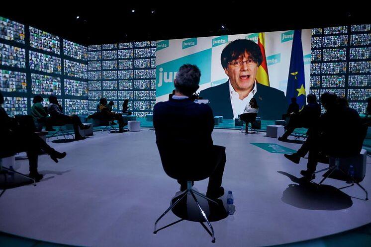 Puigdemont, à la fin de la campagne