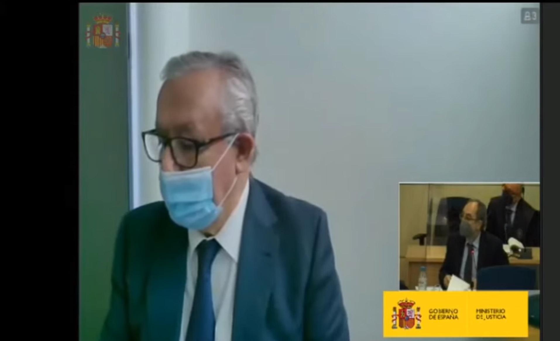 Javier Arenas, dans le procès de la «boîte B» du PP.
