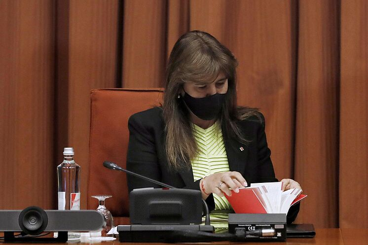 La présidente du Parlement, Laura Borr