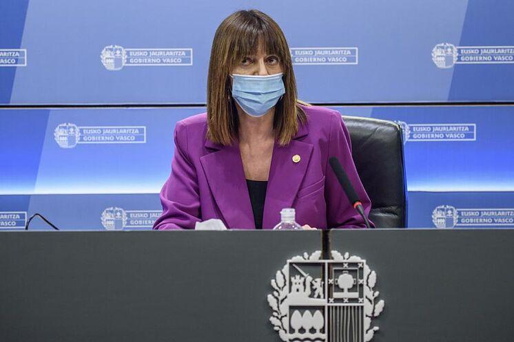 Vice-président Idoia Mendia lors d'une apparition p