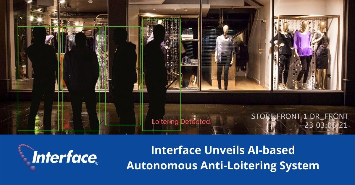 Interface dévoile un système anti-vagabond autonome basé sur l'IA