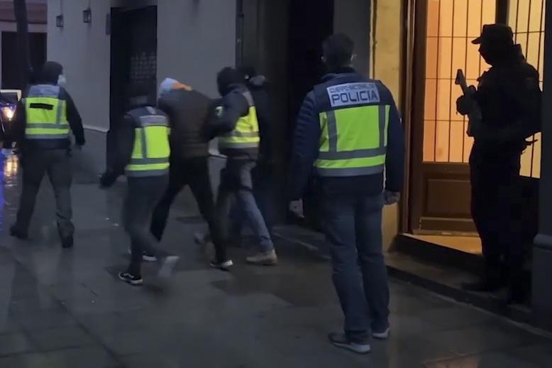 Détail de l'arrestation