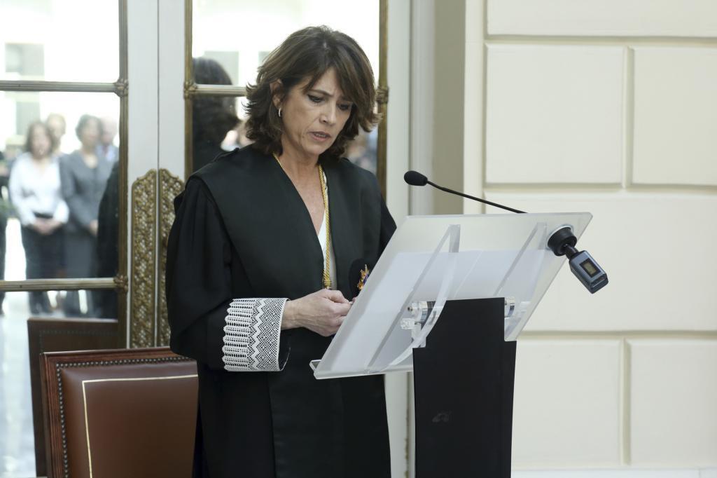 Le procureur général de l'État, Dolores Delgado.