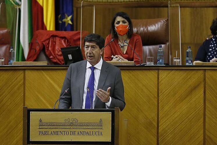 Le vice-président du conseil, Juan Mar