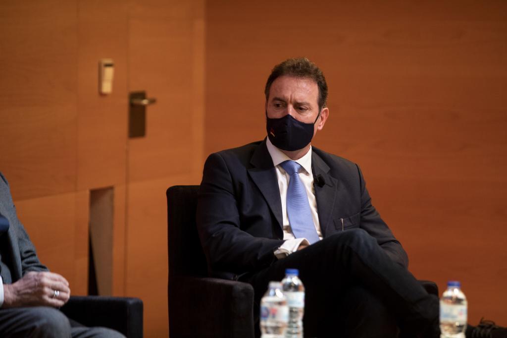 Daniel Portero, président de Dignidad y Justicia.