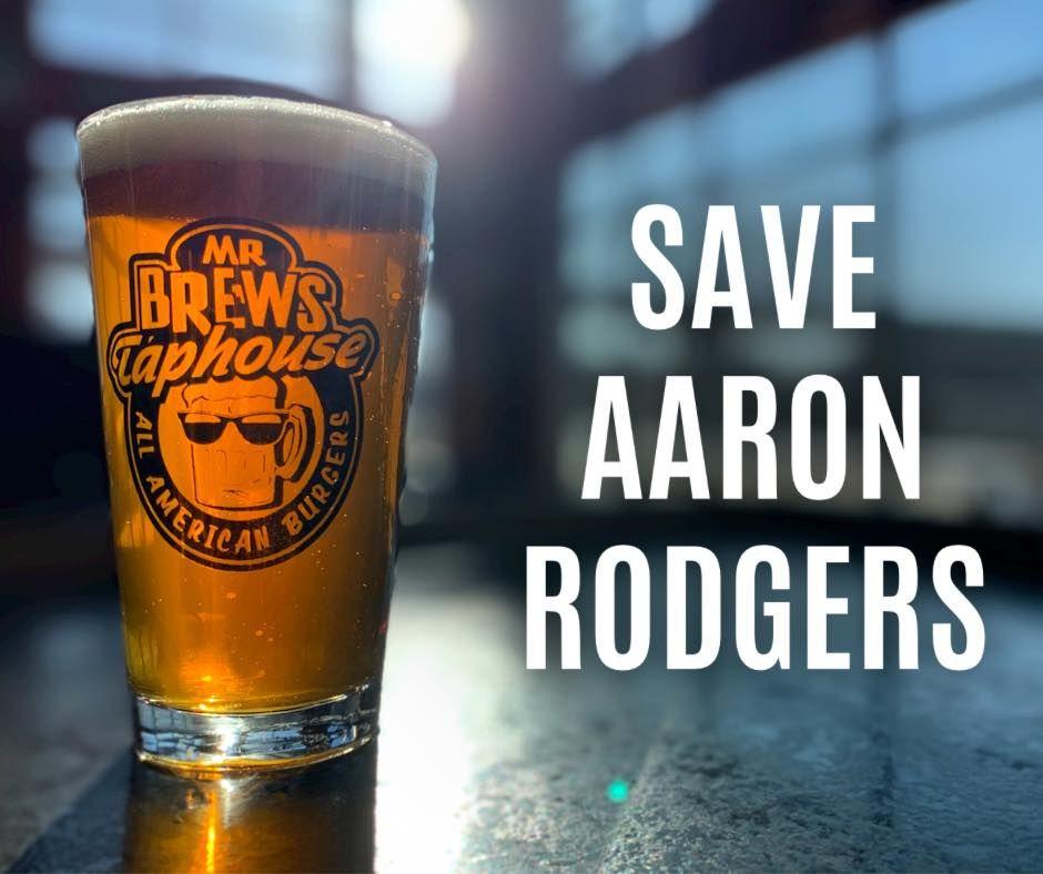 Mr Brews Taphouse offre à Aaron Rodgers des hamburgers et des bières gratuits à vie!