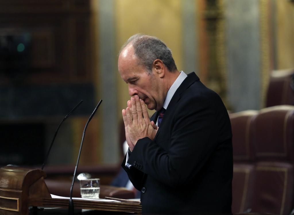 Le ministre de la Justice, Juan Carlos Campo.