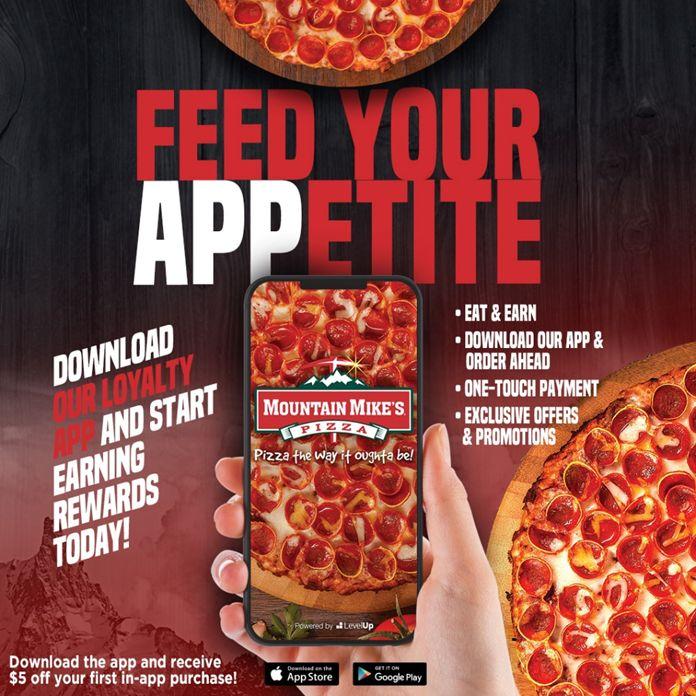 Mountain Mike's Pizza lance un nouveau programme de fidélité et une application mobile mise à jour