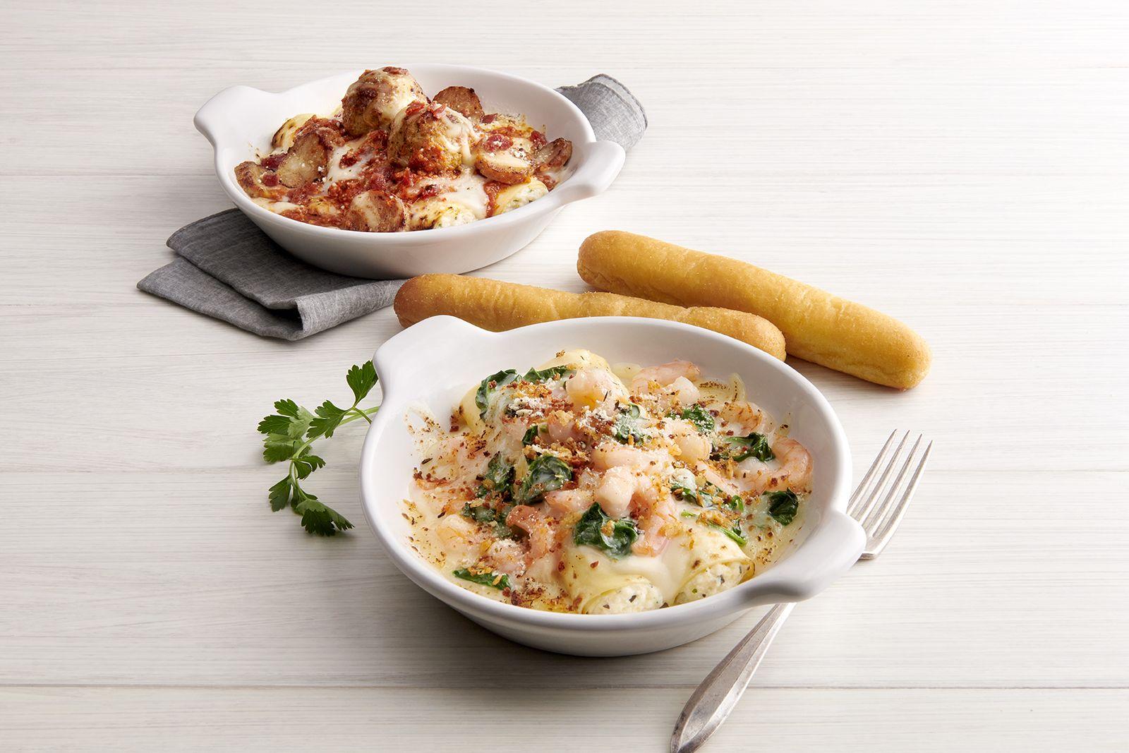 Fazoli's continue d'amplifier son menu avec le lancement de pâtes farcies indulgentes
