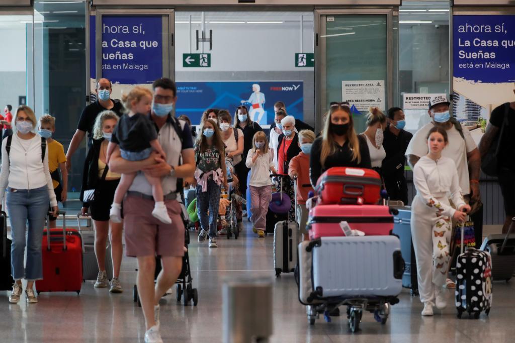 touristes britanniques
