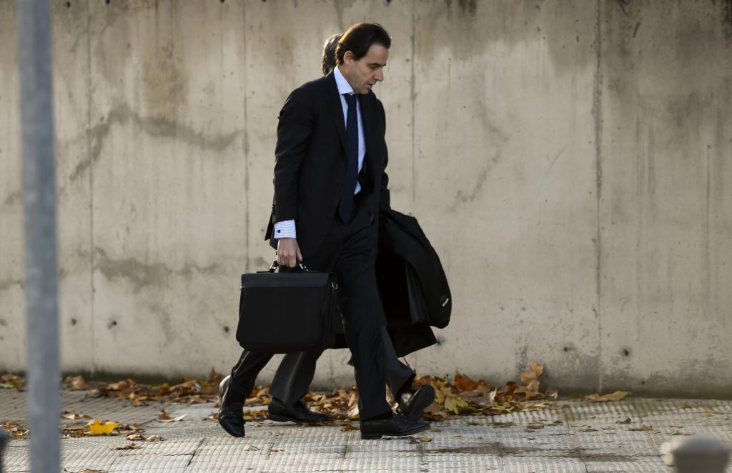 L'homme d'affaires Javier L