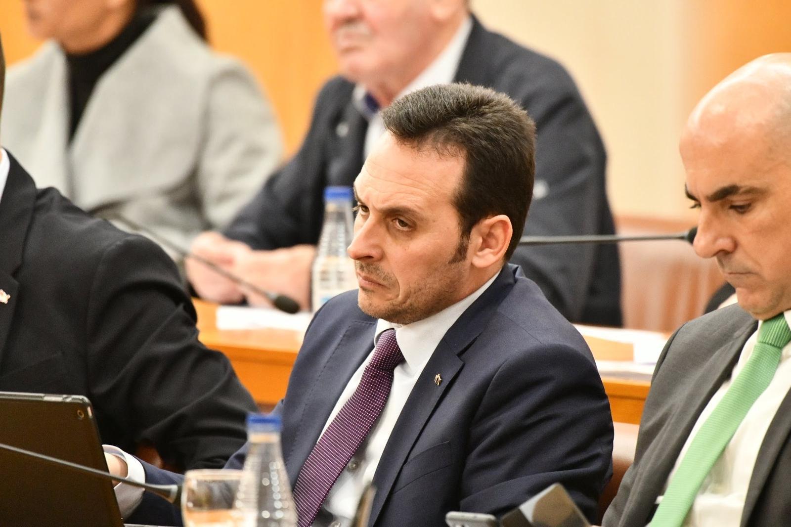 Juan Sergio Redondo, président de Vox Ceuta.