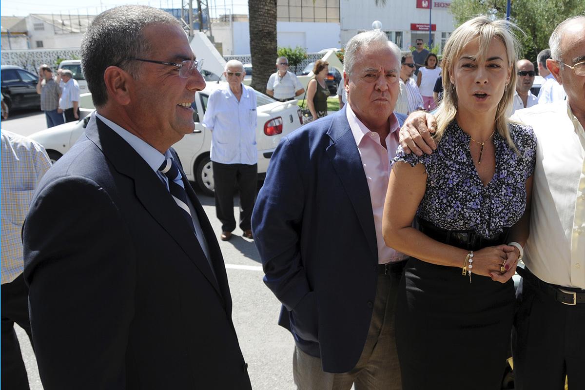 Sonia Castedo avec Enrique Ortiz et luis D