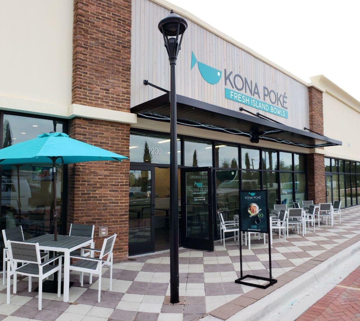 Kona Poké annonce l'ouverture d'un troisième restaurant à Apopka, en Floride, fin 2021 et de futurs emplacements dans tout l'État