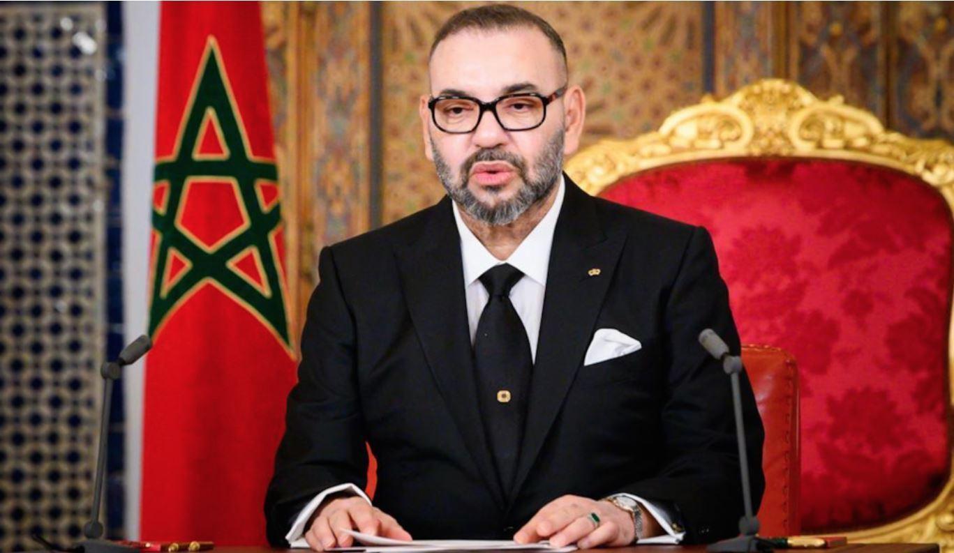 Le roi du Maroc, Mohamed VI.