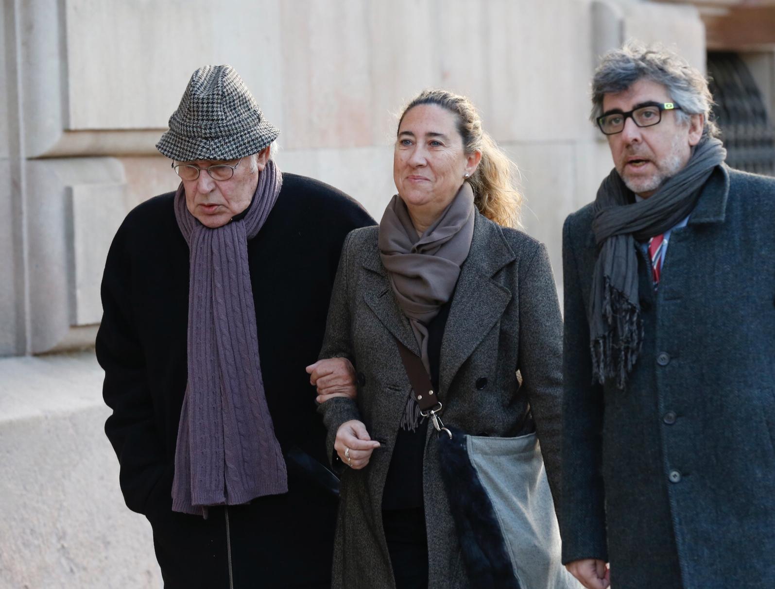 Jordi Montull, Gemma Montull et Jordi Pina.