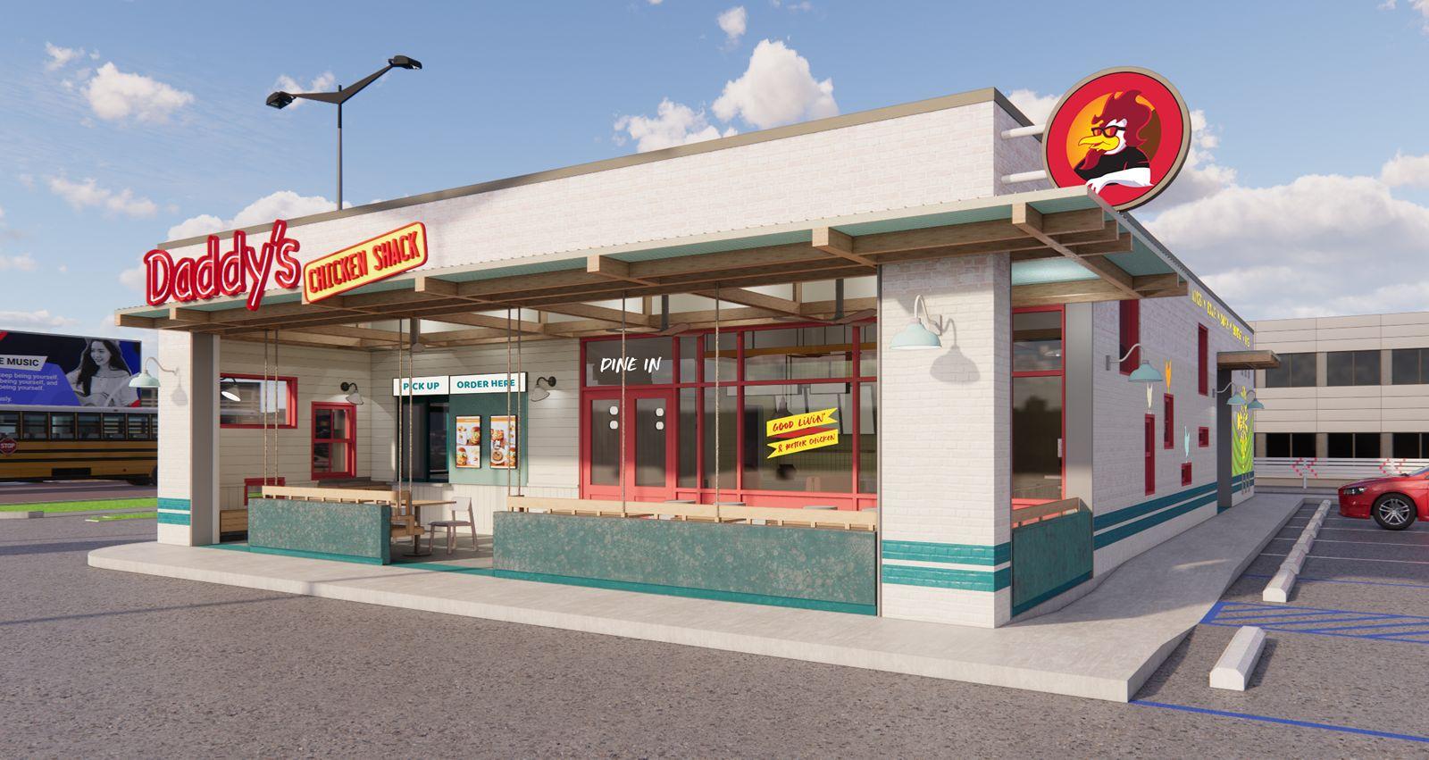 Daddy's Chicken Shack recherche la croissance et l'innovation grâce au repositionnement de sa marque