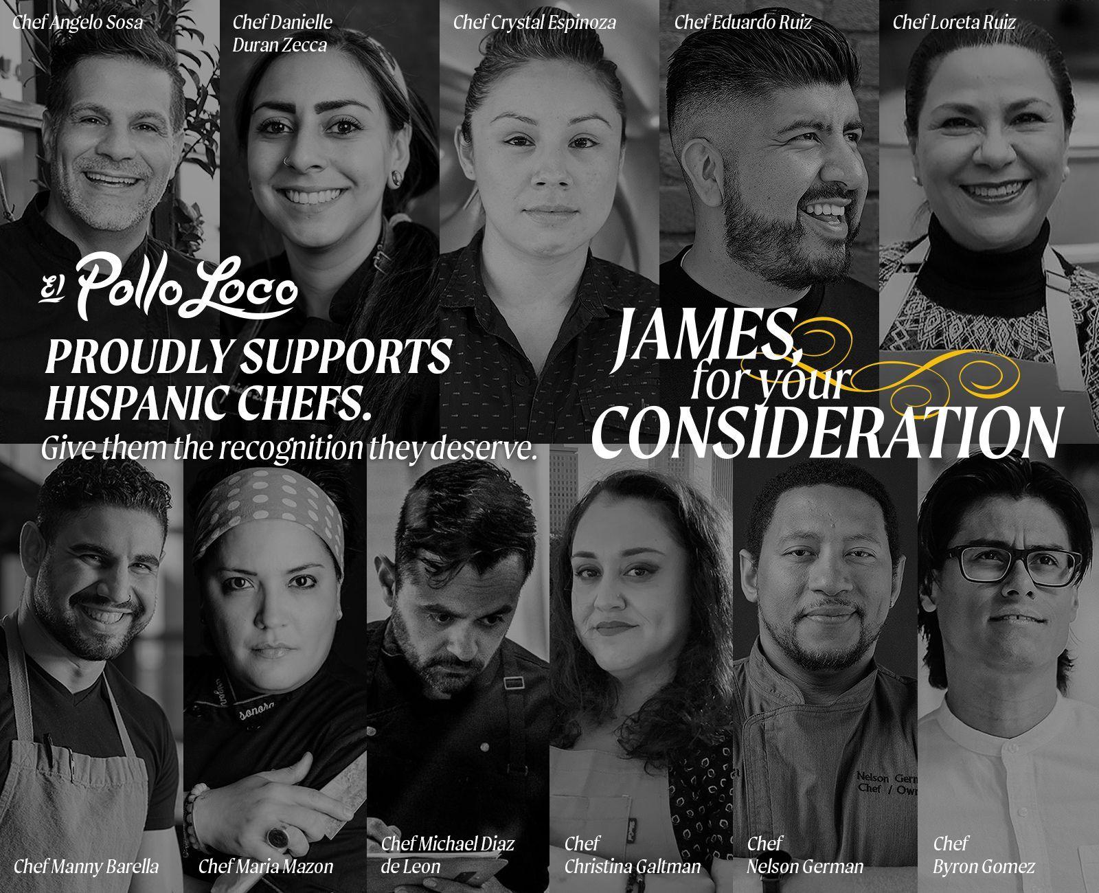 El Pollo Loco appelle à la reconnaissance depuis longtemps des talents culinaires hispaniques avec le Mois du patrimoine hispanique pour votre campagne de considération