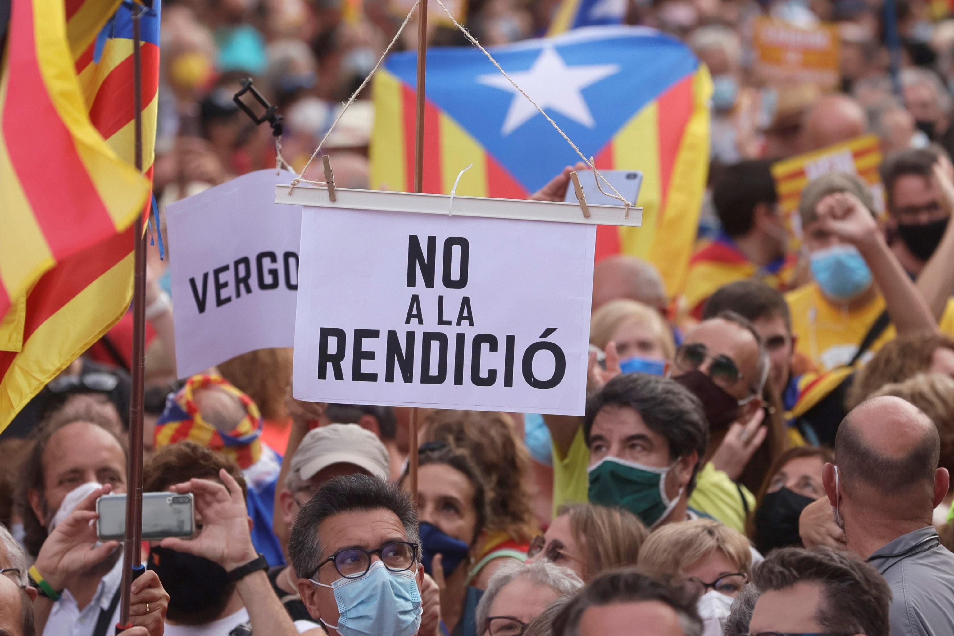 Les participants à la manifestation