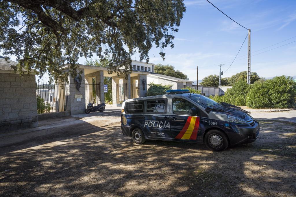Une voiture de patrouille de police