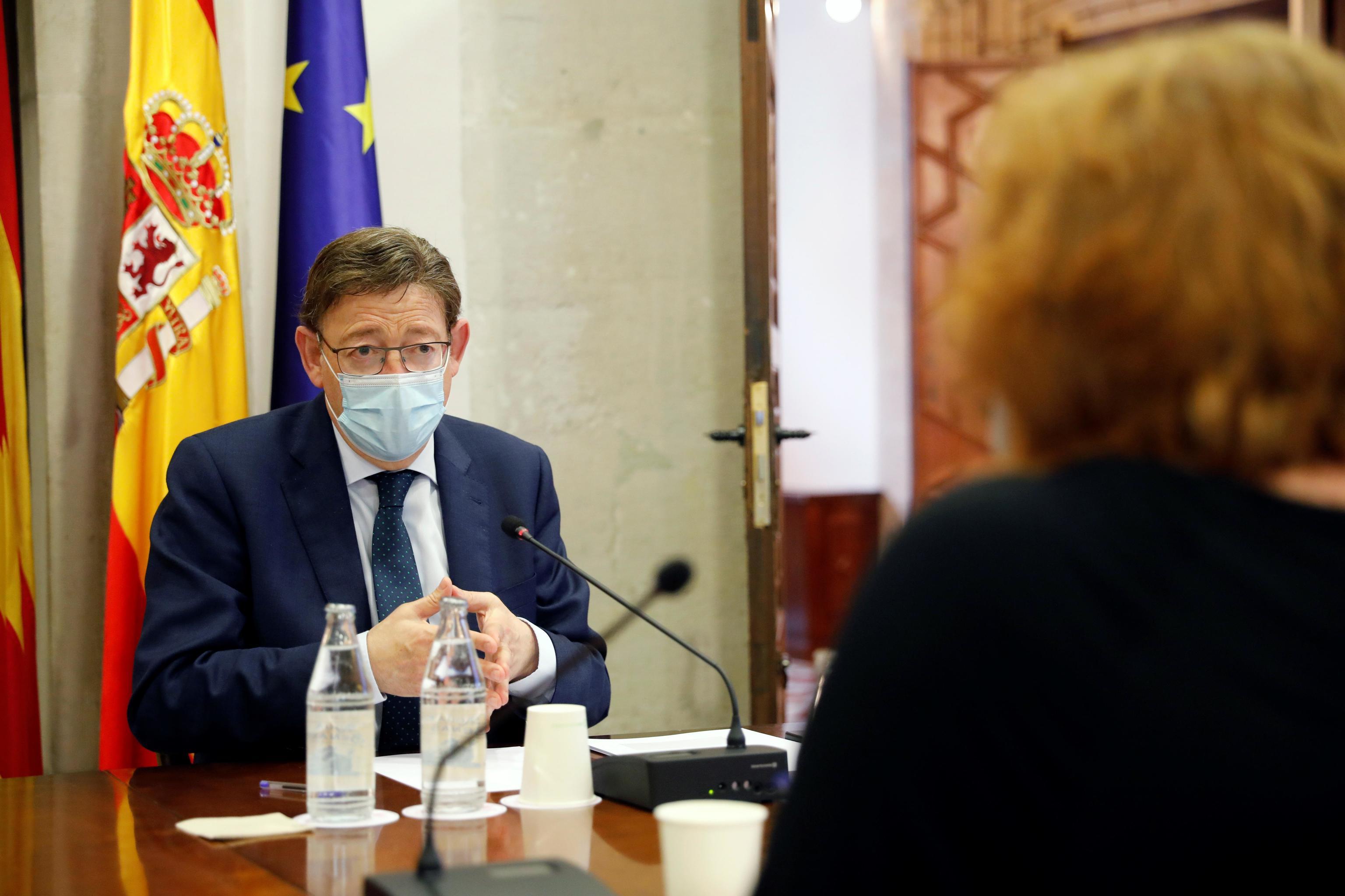 Le président de la Generalitat Valenciana, Ximo Puig.