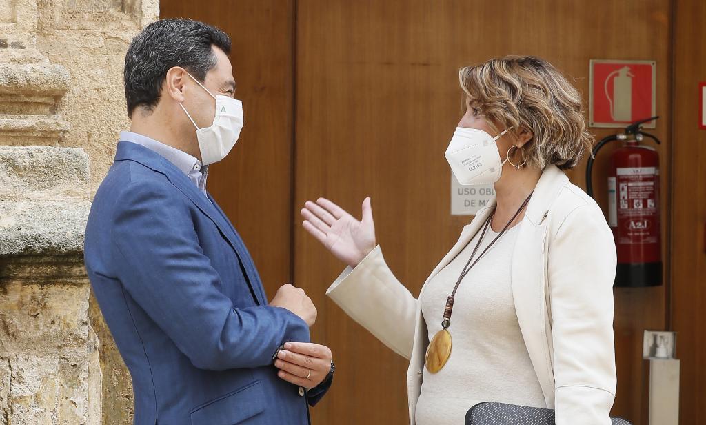 Juanma Moreno accueille Susana D