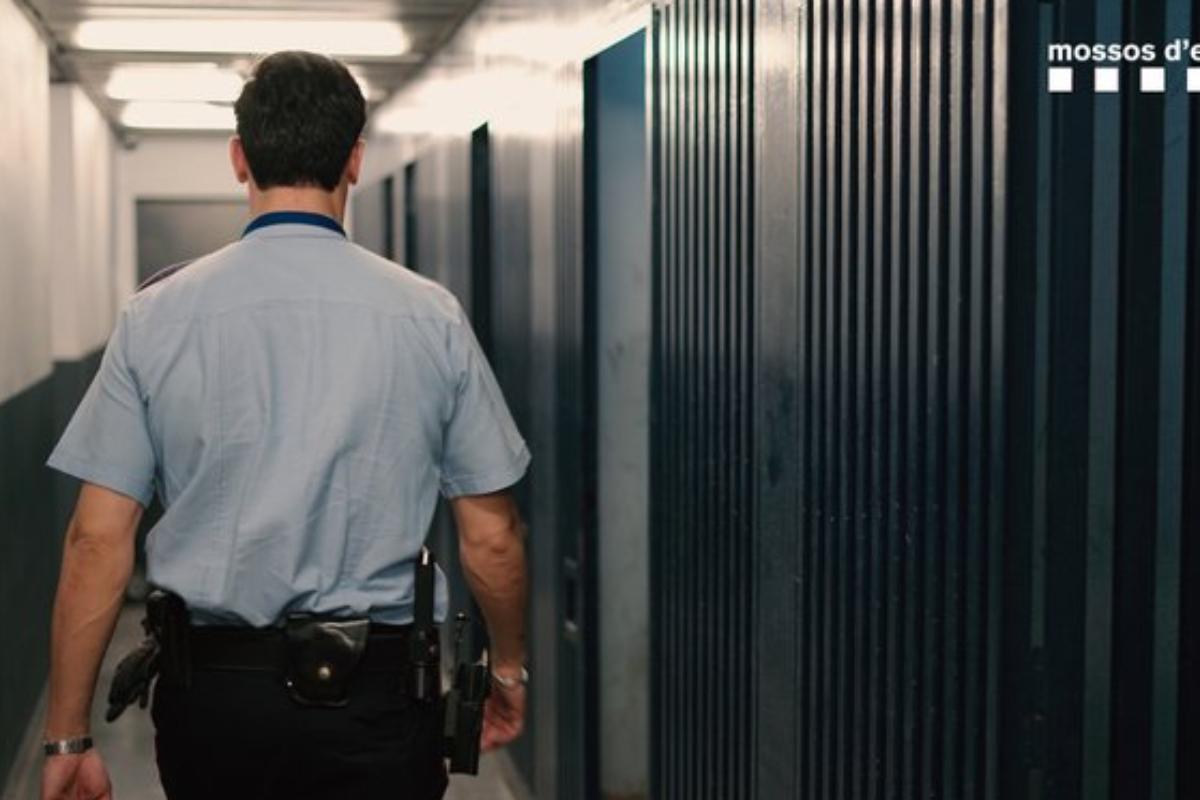 Un agent des Mossos d'Esquadra.