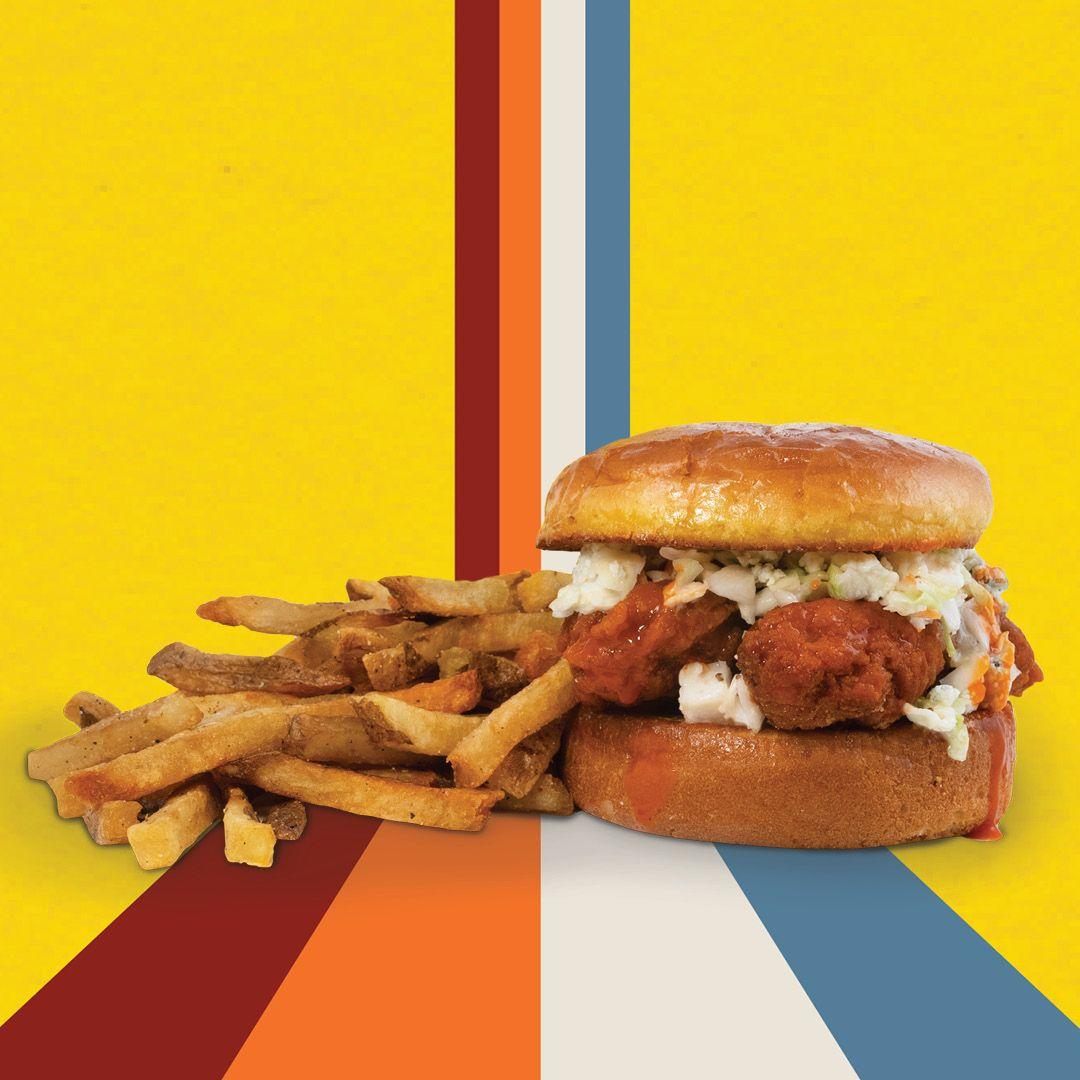 Sandwich au poulet Buffalo Wing Boss