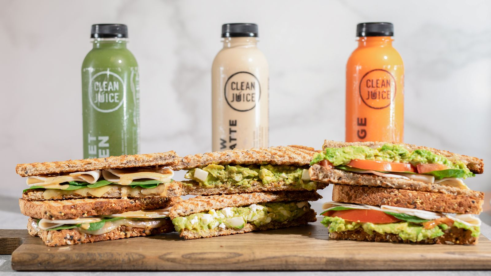 Clean Juice présente de nouveaux sandwichs biologiques