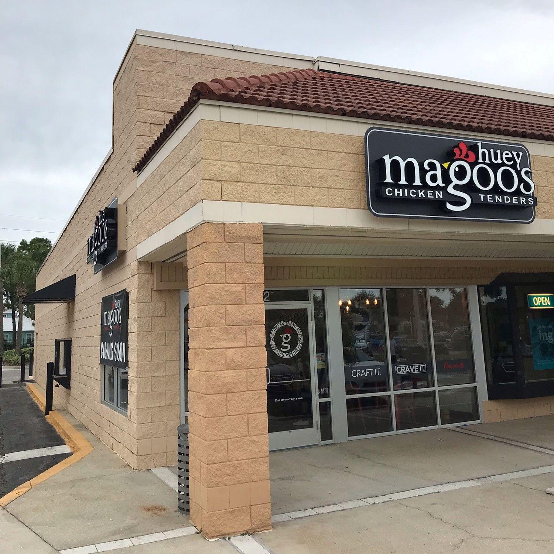 Huey Magoo's annonce sa grande ouverture à Jacksonville Beach, en Floride, le mercredi 13 octobre
